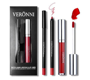Lipgloss Lip Liner Set-hair straightener,[product_type]-brush,SIMPLICITY Hair and Beauty -SimplicityHair&Beauty,[variant_title]-black,[option1]-hair-brush,[option2]-hair-curler,[option3]-flat-iron
