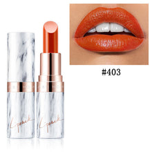 Load image into Gallery viewer, Marble Velvet Lipstick-hair straightener,[product_type]-brush,SIMPLICITY Hair and Beauty -SimplicityHair&Beauty,Sweet Orange 403-black,Sweet Orange 403-hair-brush,[option2]-hair-curler,[option3]-flat-iron