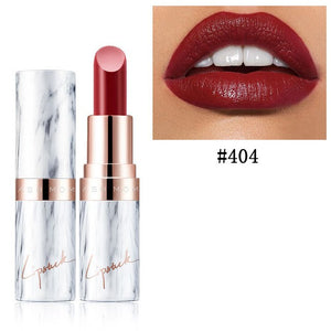 Marble Velvet Lipstick-hair straightener,[product_type]-brush,SIMPLICITY Hair and Beauty -SimplicityHair&Beauty,Dark Red 404-black,Dark Red 404-hair-brush,[option2]-hair-curler,[option3]-flat-iron