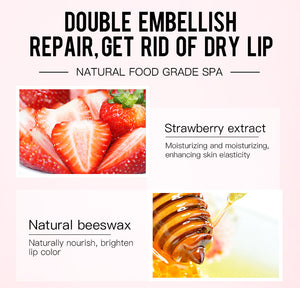Strawberry  Extract Nourishing Lip Mask-hair straightener,[product_type]-brush,SIMPLICITY Hair and Beauty -SimplicityHair&Beauty,[variant_title]-black,[option1]-hair-brush,[option2]-hair-curler,[option3]-flat-iron