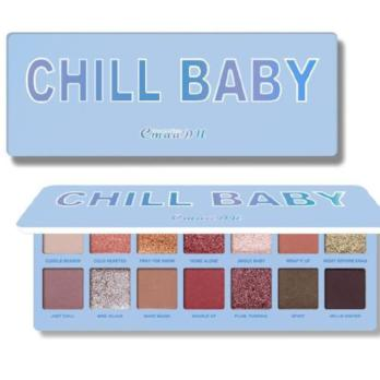 CHILL BABY 14  Color Eyeshadow-hair straightener,[product_type]-brush,SIMPLICITY Hair and Beauty -SimplicityHair&Beauty,[variant_title]-black,[option1]-hair-brush,[option2]-hair-curler,[option3]-flat-iron