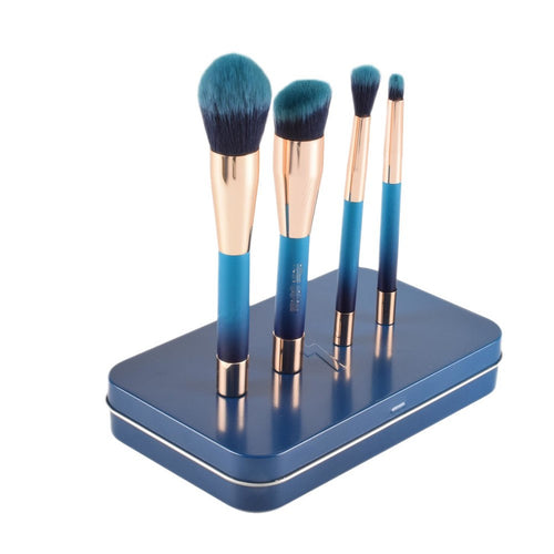 Blue Magnet Makeup Brushes-hair straightener,[product_type]-brush,SIMPLICITY Hair and Beauty -SimplicityHair&Beauty,[variant_title]-black,[option1]-hair-brush,[option2]-hair-curler,[option3]-flat-iron