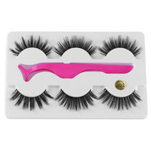 Load image into Gallery viewer, Cruelty Free Handmade Mink Lashes-hair straightener,[product_type]-brush,SIMPLICITY Hair and Beauty -SimplicityHair&Beauty,3D-002-black,3D-002-hair-brush,[option2]-hair-curler,[option3]-flat-iron