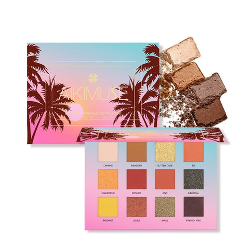 Sunset Eyeshadow Palette-hair straightener,[product_type]-brush,SIMPLICITY Hair and Beauty -SimplicityHair&Beauty,[variant_title]-black,[option1]-hair-brush,[option2]-hair-curler,[option3]-flat-iron