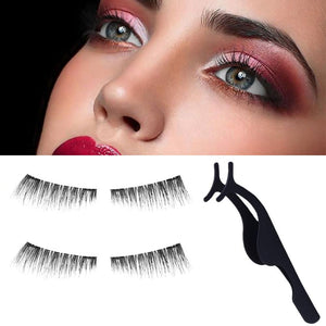 3D Handmade Magnetic  Eyelashes-hair straightener,[product_type]-brush,SIMPLICITY Hair and Beauty -SimplicityHair&Beauty,[variant_title]-black,[option1]-hair-brush,[option2]-hair-curler,[option3]-flat-iron