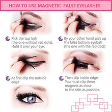 Load image into Gallery viewer, 3D Handmade Magnetic  Eyelashes-hair straightener,[product_type]-brush,SIMPLICITY Hair and Beauty -SimplicityHair&Beauty,[variant_title]-black,[option1]-hair-brush,[option2]-hair-curler,[option3]-flat-iron