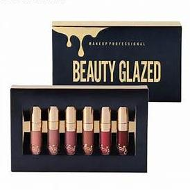 Beauty Glazed Original Matte Liquid Lipstick Set-hair straightener,[product_type]-brush,SIMPLICITY Hair and Beauty -SimplicityHair&Beauty,[variant_title]-black,[option1]-hair-brush,[option2]-hair-curler,[option3]-flat-iron