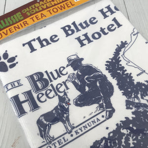 Blue Heeler Tea Towel