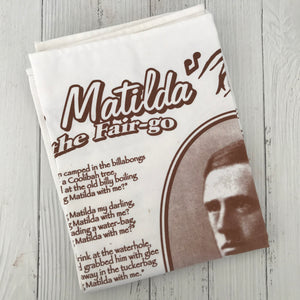 Waltzing Matilda Tea Towel