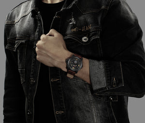 NAVIFORCE Mens Luxury Watches - The Urban One