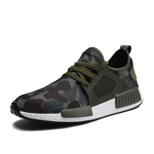 Military Printed Running Shoes - The Urban One