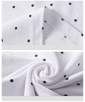 Dot Printed Polo - The Urban One