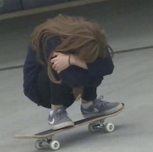 Don't be sad, you are on a skateboard!!!