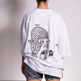 Rear view of Salt King shirt by Holystoked, Bangalore.