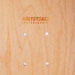 Close up shot of Holystoked's Green Screen Deck.