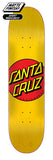 Santa Cruz Classic Dot Skateboard Deck 7.75 Bottom