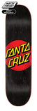 Santa Cruz Classic Dot Skateboard Deck 8.25 Bottom
