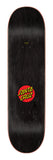 Santa Cruz Classic Dot Skateboard Deck 8.25 Top