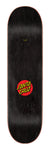 Santa Cruz Classic Dot Skateboard Deck 8.375 Top