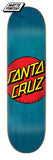 Santa Cruz Classic Dot Skateboard Deck 8.5 Bottom