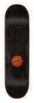Santa Cruz Classic Dot Skateboard Deck 8.5 Top