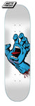 Santa Cruz Screaming Hand Skateboard Deck 8.25 Bottom