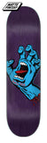 Santa Cruz Screaming Hand Skateboard Deck 8.375 Bottom