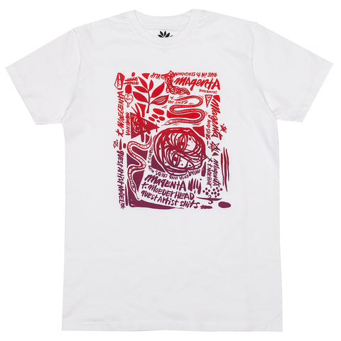 Magenta Collection - Campbell White Tee