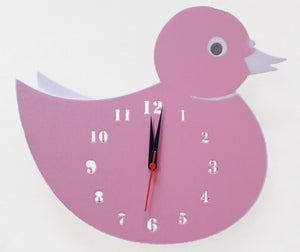 Duck Shape Wall Clock