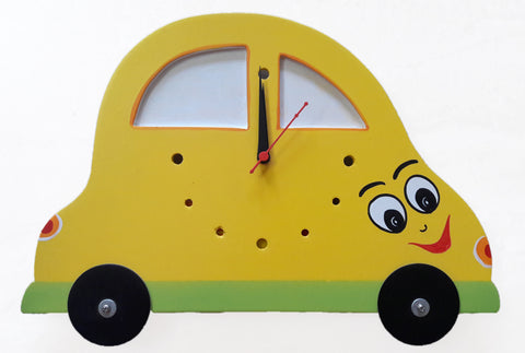 Car Shape Wall Clock