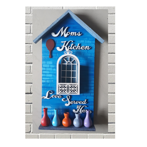 Handmade Wall Decoration Art for Moms kitchen