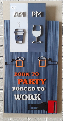 Wall Hanging for Home Bar Decor