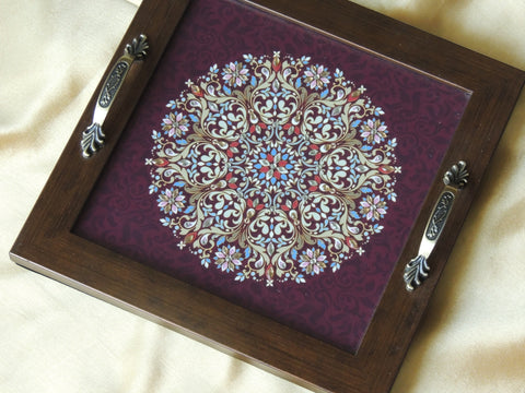 Handmade Designer Tray for Home & Kitchen / Designer Tray for Gift