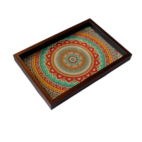 ArtzNColours Handmade Designer Box Tray for Home & Kitchen / Designer Tray for Gift