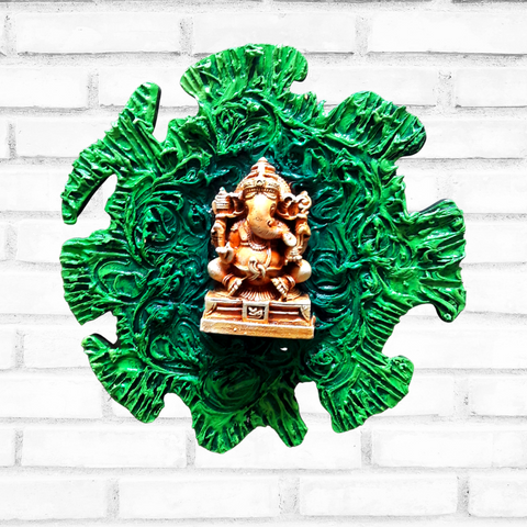 Artz N Colours Ganesha Mural | Outside Door Hanging