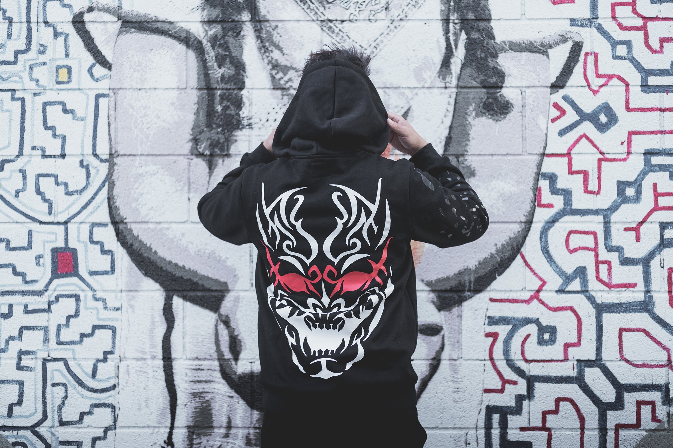 Hannya V2 (Black Rose)