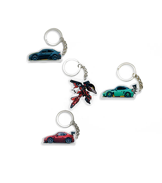 Acrylic Key Chains