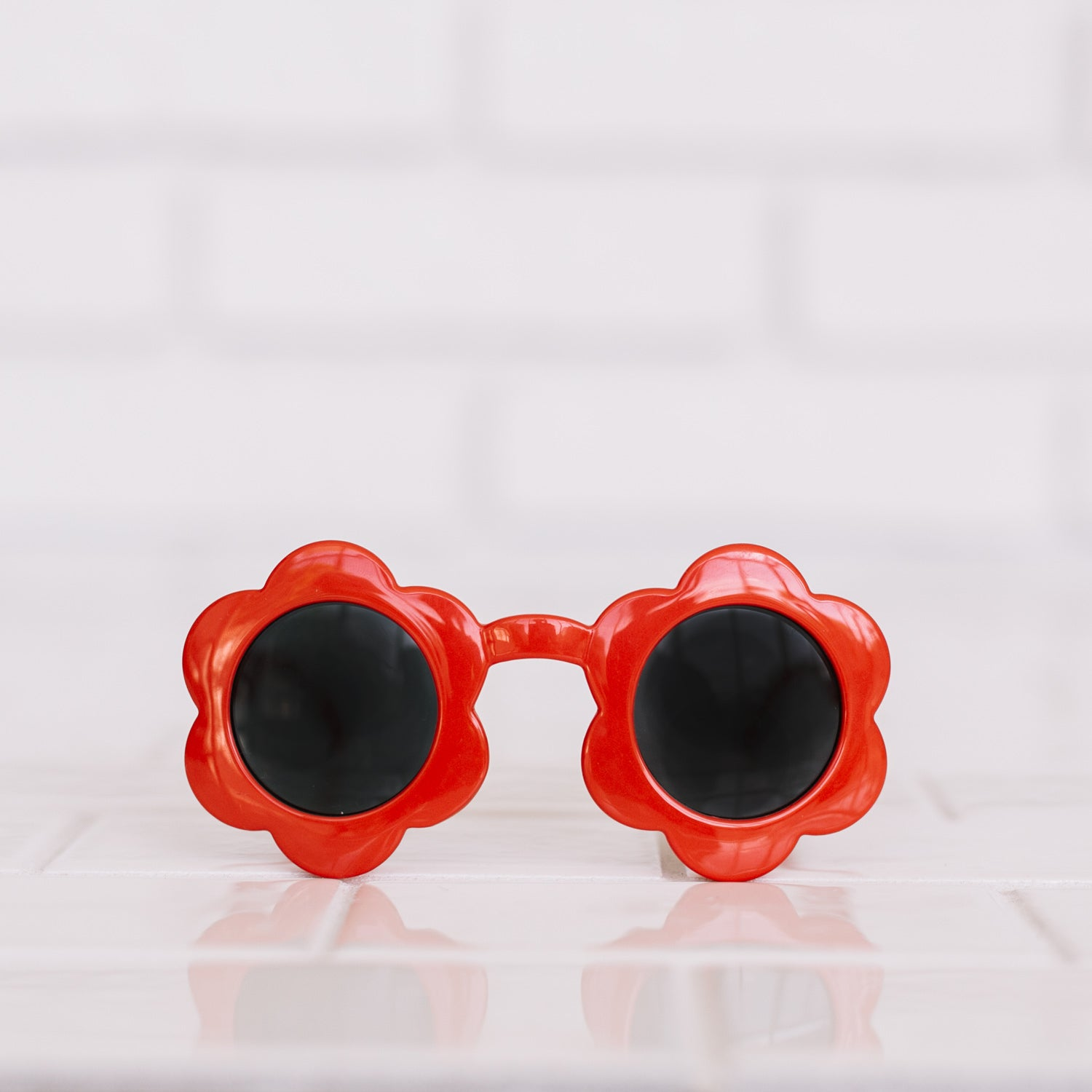 Toddler Daisy Sunnies - Sriracha
