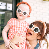 Toddler Daisy Sunnies - Rainbow Glitter