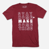 Stay Home + Make Something - Cardinal