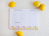 Cookbook + Meal Planner Notepad Bundle