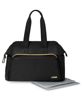 Mainframe Wide Open Diaper Satchel-Black