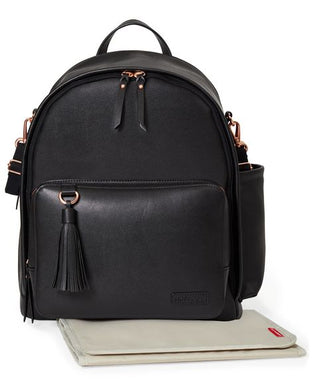 Skip Hop – Greenwich Simply Chic Backpack-Black