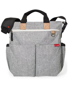 Duo Signature - Grey Melange Baby Bag