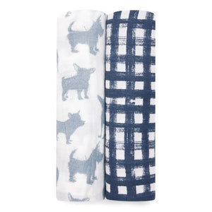 Aden and Anais Waverly 2-pack swaddles