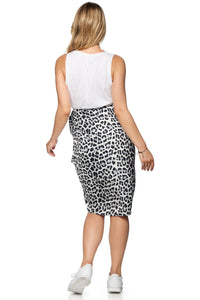 Here And Now Skirt - Leopard