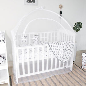 Cot Canopy Net (Various Sizes) - White
