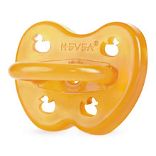 Load image into Gallery viewer, Hevea Natural Rubber Pacifier - Duck 0-3 months