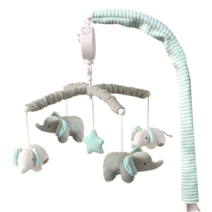 Musical Cot Mobile - Elephants