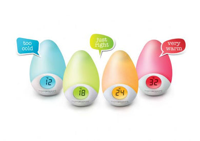 Sleep Easy Tear Drop Night Light and Room Temperature Reading